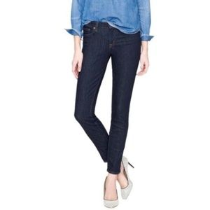 J. Crew Toothpick Ankle Jeans Skinny Leg Denim 28